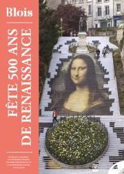 En couverture, l'escalier Denis-Papin, décoré du tableau de La Joconde.