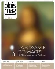 En couverture, La Joconde, floutée mais reconnaissable (affiche des Rendez-vous de l'histoire).
