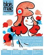 En couverture, une illustration de Marianne, entourée de petites bulles de discussion bleues, blanches, ou rouges.