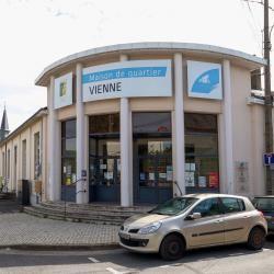 Façade de la mairie annexe de Blois-Vienne, accueillant également les locaux de la maison de quartier ALCV.