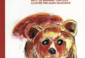 Couverture du livre «Le voyage de Sernin», avec une illustration d'ours.