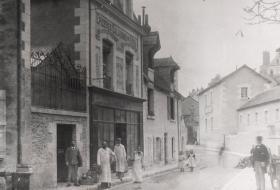 Photo d'archive de la rue du Pont-du-Gast.