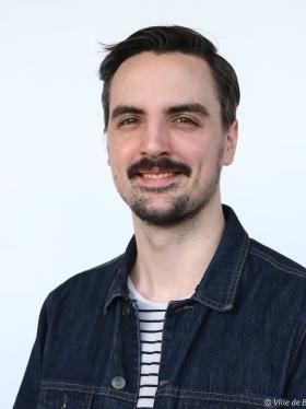 Portrait d'Axel Dieuzaide.