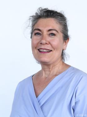 Portrait deMarie-AgnèsFéret.