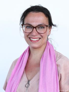 Portrait de Mathilde Desjonquères.