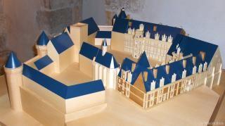 Maquette tactile du Château royal.