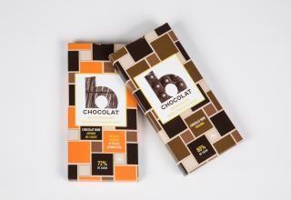 Tablettes de chocolat.