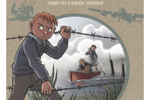 Couverture de la bande dessinée éponyme, avec un garçon passant entre des fils barbelés, l'air revanchard.