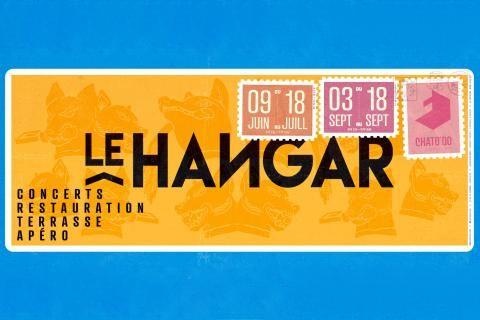 Le hangar : concerts, restauration, terrasse, apéro. Du 9 juin au 18 juillet, puis du 3 au 18 septembre.