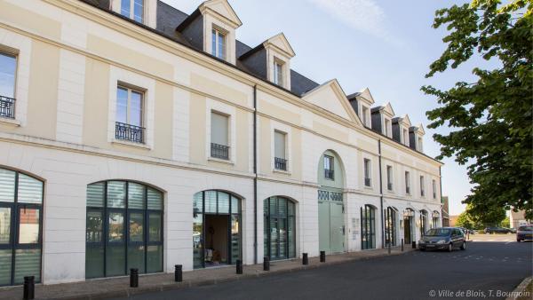 Façade de la maison de Justice et du droit de Blois.