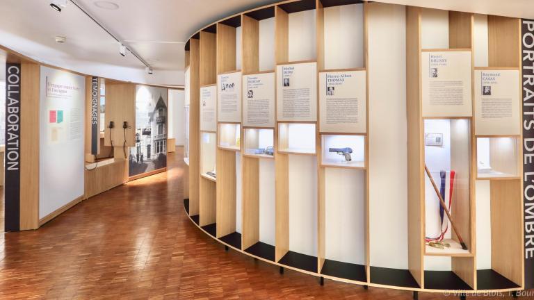 Le Centre présente de nombreux témoignages et portraits de personnes résistantes à Blois et dans le Loir-et-Cher.