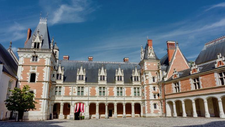 Cour intérieure du Château royal, aile Louis-XII.