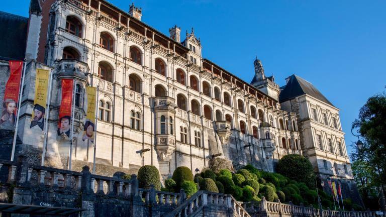 Façade des Loges du Château royal (aile Renaissance).