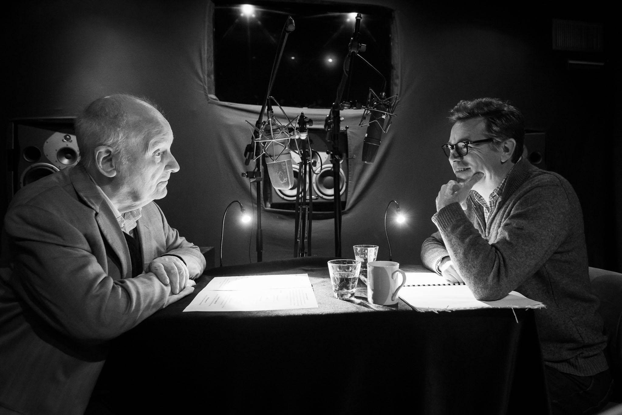 Michel Bouquet et Guillaume de Tonquédec enregistrent les voix du film.