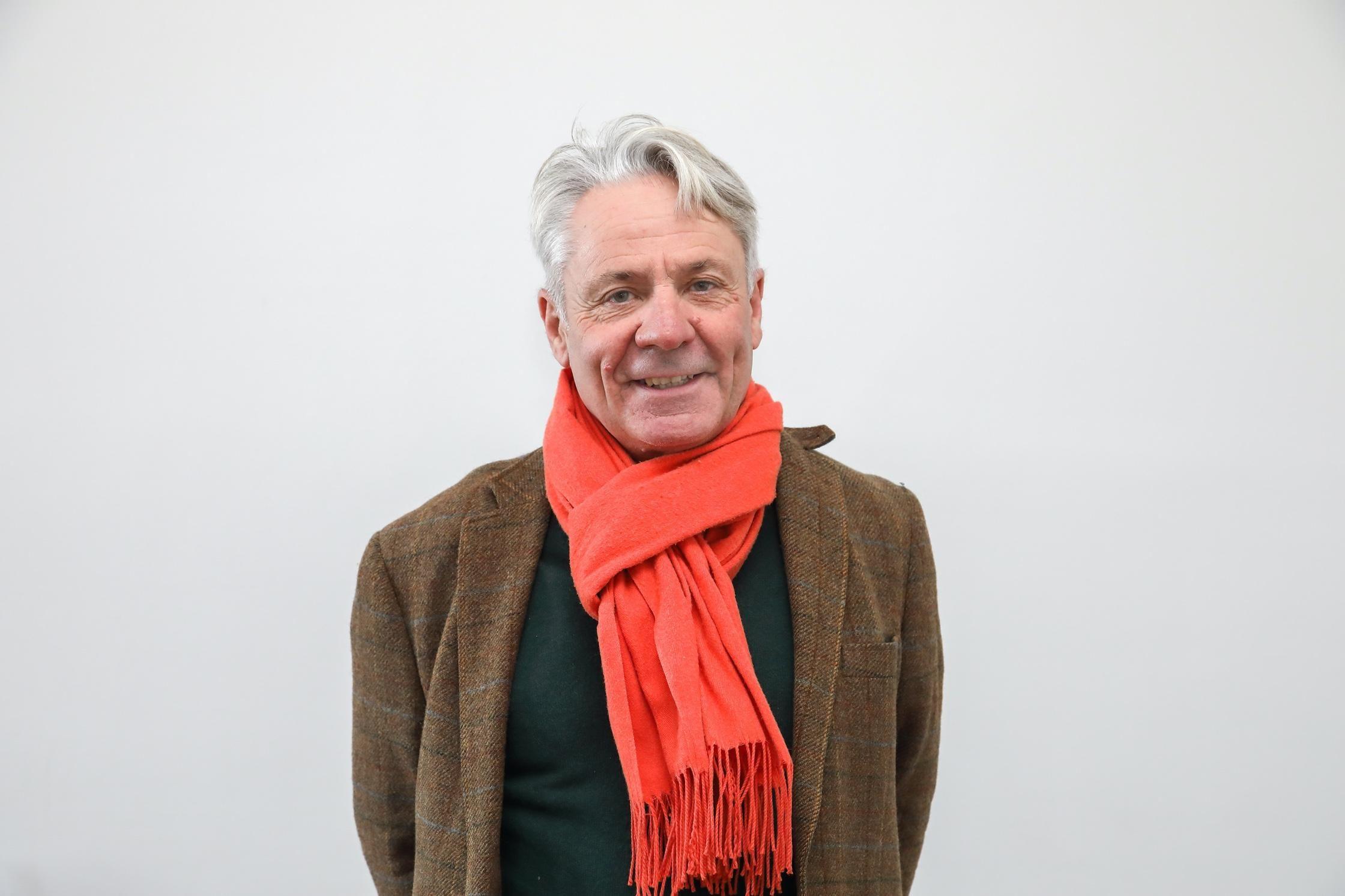 Portrait de Christophe deCalbiac.