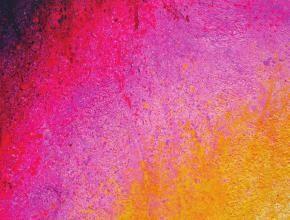 Peinture de dégradé de couleurs.