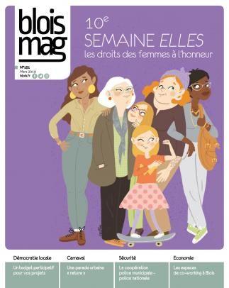 En couverture, un groupe de six femmes toutes diverses