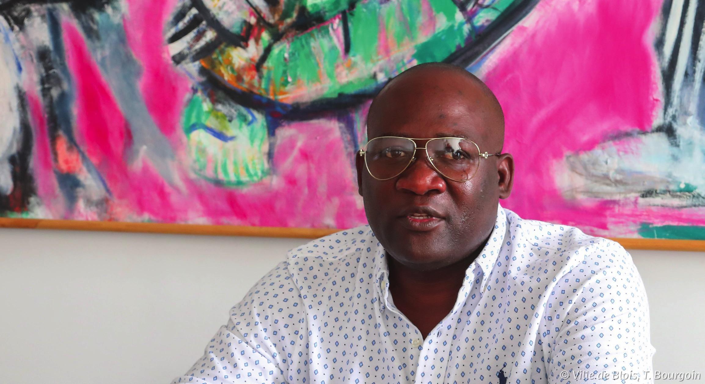 Portrait de Djino-Kisito Ondongo.