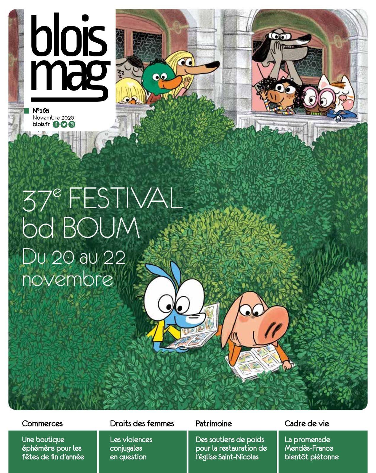 En couverture : extrait de la bd «Ariol», dont les personnages lisent dans les buissons et les terrasses du Château royal.