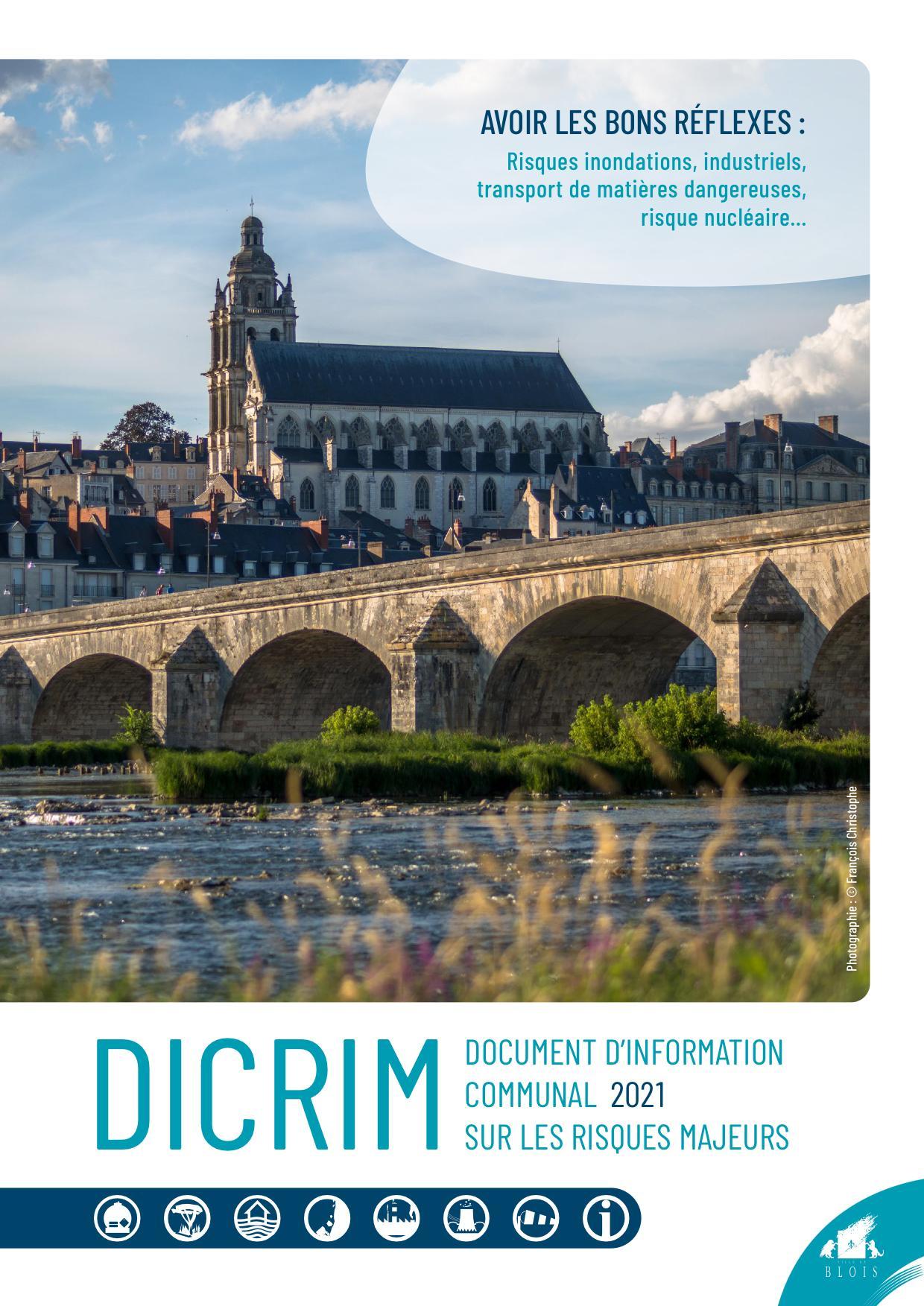 Couverture du Dicrim, figurant une photo du pont Jacques-Gabriel et de la cathédrale depuis la rive gauche.